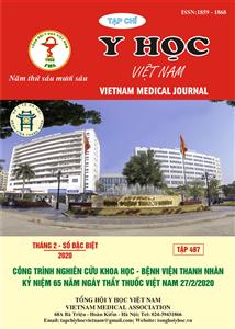 Tạp chí Y học Việt Nam tháng 2 - số đặc biệt/2020