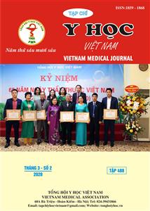 Tạp chí Y học Việt Nam tháng 3 - số 2/2020