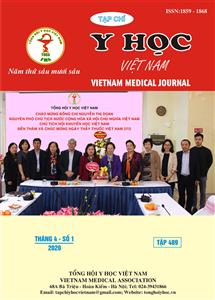 Tạp chí Y học Việt Nam tháng 4 - số 1/2020