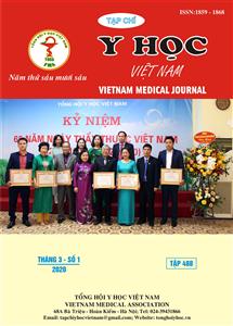 Tạp chí Y học Việt Nam tháng 3 - số 1/2020
