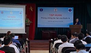 Hoạt động phòng chống tác hại thuốc lá của Tổng hội Y học Việt Nam tại Thanh Hóa