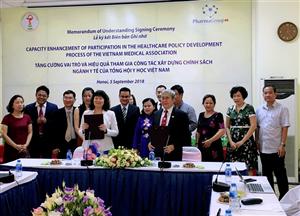Lễ ký kết Biên bản ghi nhớ phối hợp hoạt động với Pharma Group