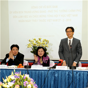 Ý kiến kết luận của Phó Thủ tướng Vũ Đức Đam tại buổi làm việc với Tổng hội Y học Việt Nam