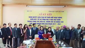 Nghị quyết liên tịch giữa THYHVN với Bộ Y tế
