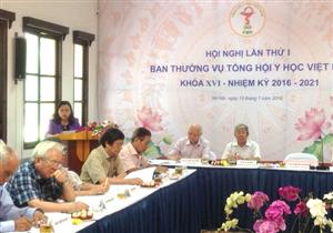 Hội nghị lần thứ I, Ban thường vụ THYHVN XVI, nhiệm kỳ 2016-2021