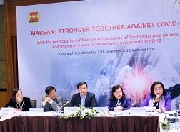 Hội nghị trực tuyến Hội y học các nước Đông Nam Á - MASEAN: Chia sẻ kinh nghiệm phòng chống Covid-19