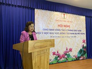 Hội nghị Ban Thường vụ, Ban Chấp hành, Giao ban 6 tháng đầu năm 2020 khu vực Đông Tây Nam Bộ mở rộng