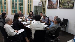 Họp lãnh đạo và thường trực Tổng hội Y học Việt Nam tháng 6/2015