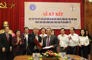 Tổng hội Y học Việt Nam và BHXH Việt Nam