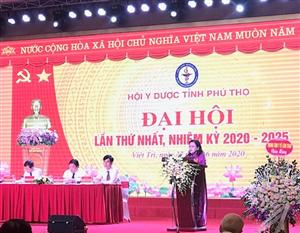 Hội Y Dược tỉnh Phú Thọ tổ chức Đại hội lần thứ nhất, nhiệm kỳ 2020-2025