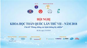 Tổng hội Y học Việt Nam tổ chức Hội nghị Khoa học toàn quốc lần thứ VII năm 2018